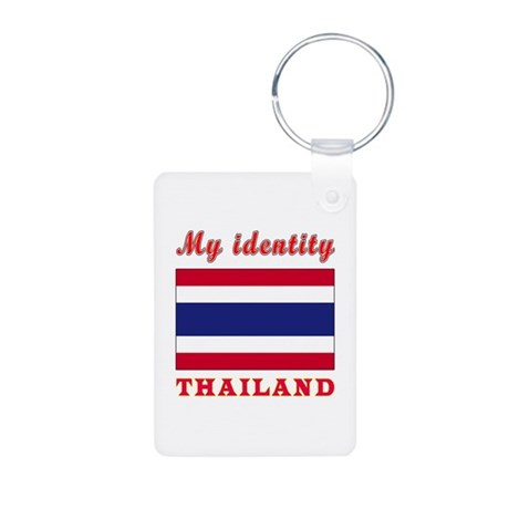 My Identity Thailand Aluminum Photo Keychain