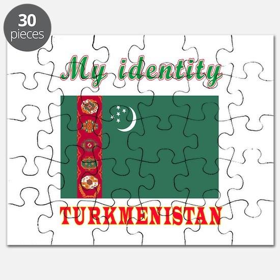 My Identity Turkmenistan Puzzle