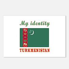 My Identity Turkmenistan Postcards (Package of 8)