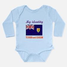My Identity Turks and Caicos Long Sleeve Infant Bo