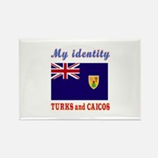 My Identity Turks and Caicos Rectangle Magnet