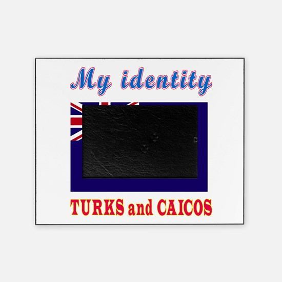 My Identity Turks and Caicos Picture Frame
