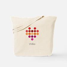 I Heart Willie Tote Bag