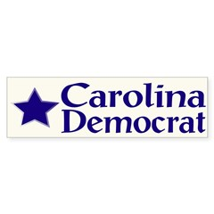 Carolina Democrat Bumper Bumper Sticker
