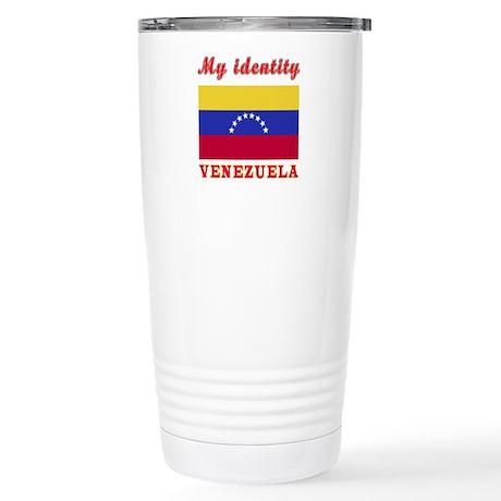 My Identity Venezuela Stainless Steel Travel Mug