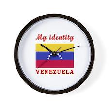 My Identity Venezuela Wall Clock