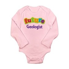 Future Geologist Long Sleeve Infant Bodysuit