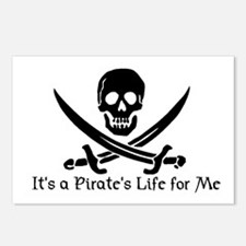 Jolly Roger (S) Postcards (Package of 8)