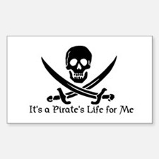 Jolly Roger (S) Rectangle Decal