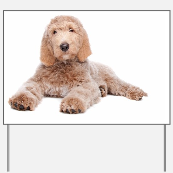 Yard Sign - Labradoodle Puppy