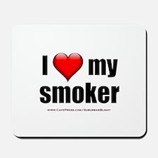 """Love My Smoker"" Mousepad"