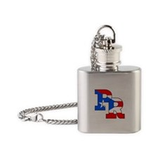 Puerto Rico Flask Necklace