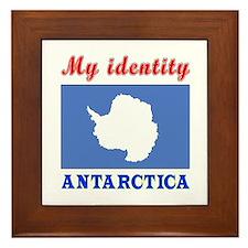 My Identity Antarctica Framed Tile