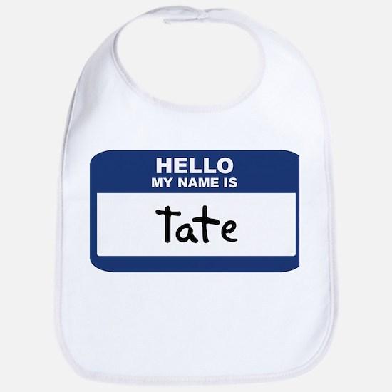 Hello: Tate Bib
