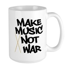 Make Music Not War Drums Mug