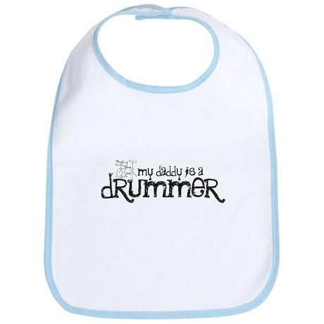 My Daddy is a Drummer Bib