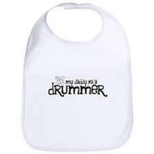 My Daddy is a Drummer Bib