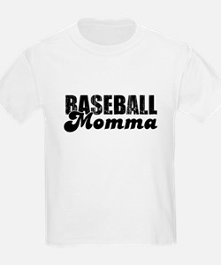 Baseball Mamma Kids T-Shirt