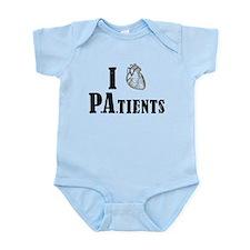 I Heart Patients Body Suit