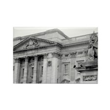 """Buckingham Detail & Lion Statue"" Magnet"