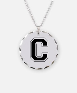 Collegiate Monogram C Necklace