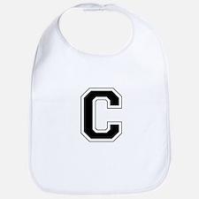 Collegiate Monogram C Bib