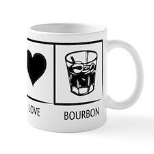 Peace. Love. Bourbon. Mug