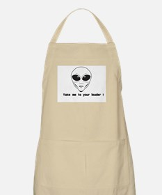 Take me to your leader ! Apron