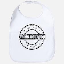 Real Men Drink Bourbon Bib