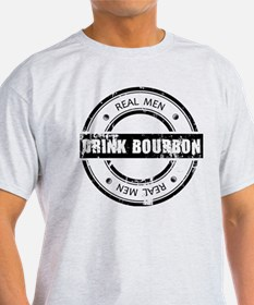 Real Men Drink Bourbon T-Shirt