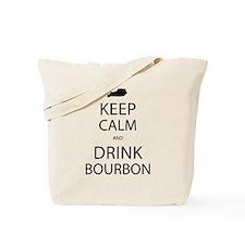 Keep Calm and Drink Bourbon Tote Bag