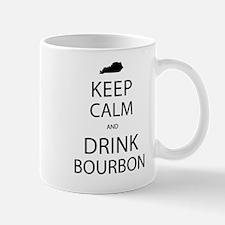 Keep Calm and Drink Bourbon Mug