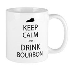 Keep Calm and Drink Bourbon Mug
