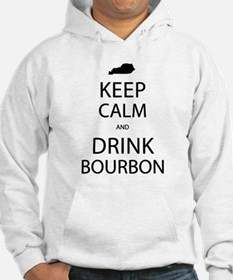 Keep Calm and Drink Bourbon Hoodie