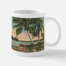 Vintage Coconut Palms Mug