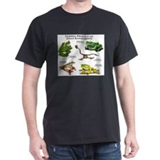 Gliding Frogs of the Asian Rainforests T-Shirt