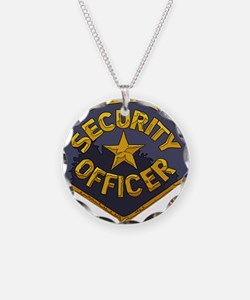 Security Officer patch Necklace