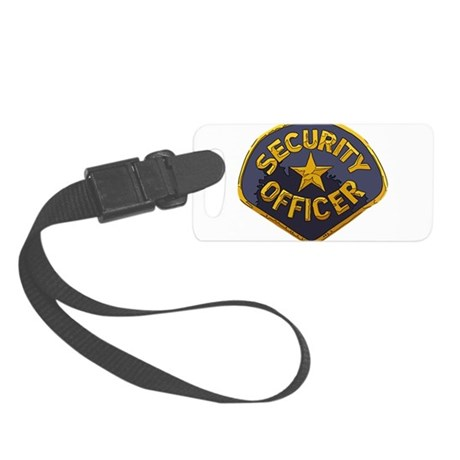 Security Officer patch Luggage Tag