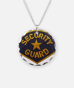 Security Guard patch Necklace