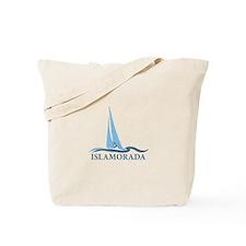Islamorada - Sailing Design. Tote Bag