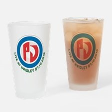 LIVE at Wrigley Drinking Glass