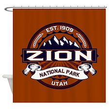 Zion Vibrant Shower Curtain