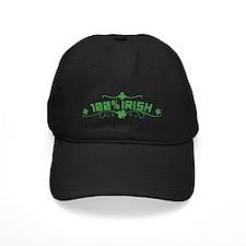 100% Irish St Patricks Day Baseball Hat