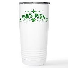 100% Irish St Patricks Day Travel Mug