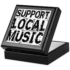 Support Local Music Keepsake Box