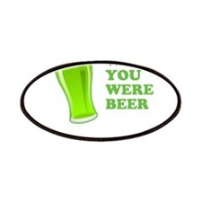Wish You Were Beer St Patricks Day Patches