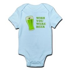 Wish You Were Beer St Patricks Day Body Suit