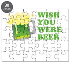 Wish You Were Beer St Patricks Day Puzzle