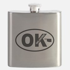 Oklahoma Map Flask