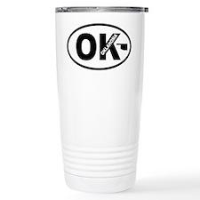 Oklahoma Map Travel Mug
